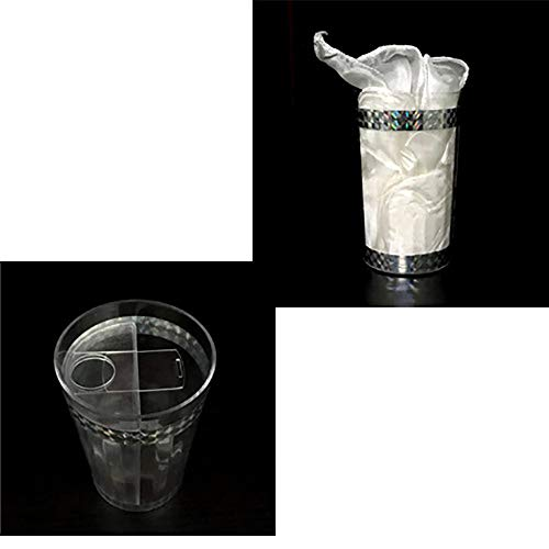Enjoyer Liquid to Silk Magic Tricks Magician Magia Cup Stage Appearing Props Accessories Illusion Gimmick Comedy