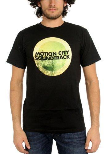 Motion City Soundtrack - Mens GO Album Logo T-Shirt, Size: X-Large, Color: - City Apparel Soundtrack Motion