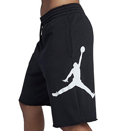 Nike Jumpman white Black Flc J Shorts M Uomo 7qx4P17wBr