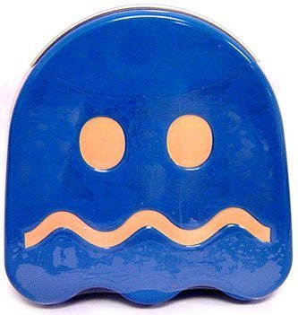 Pac-Man Candy Turned Ghost Sour Tin (Colors may vary) by Boston America