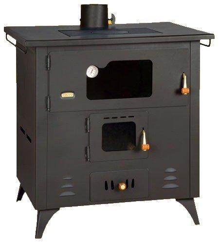 Madera Cocina Prity, Modelo R, salida de calor 14 kW, horno ...