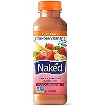 Naked, Juice Strawberry Banana, 15.2 oz