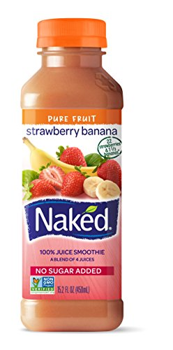 Naked, Juice Strawberry Banana, 15.2 oz