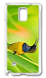 Adorable bird wildlife Hard Case Protective Shell Cell Phone For Case Samsung Note 3 Cover - PC Transparent