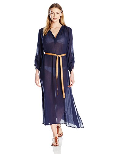 Eberjey Women's Summer of Love Haven Cover up, Deep Blue, S/M by Eberjey