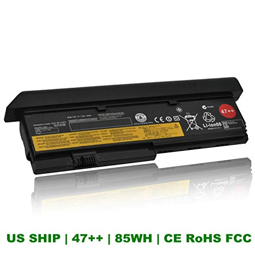 CQCQ Compatible 47++ Battery Replacement for IBM Lenovo ThinkPad X200 X200s X201 X201i X201s - 9cells [10.8V 85Wh]