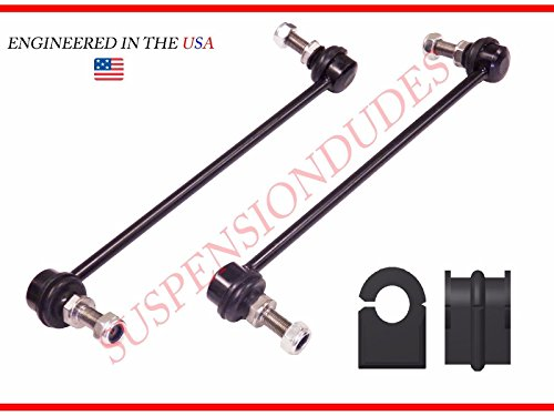 - 4PC Front Sway Bar Links + Front Bushings FOR 2007-2015 Nissan Altima