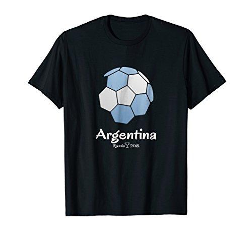 Argentina Soccer Jersey Russia 2018 Football Team Fan Shirt
