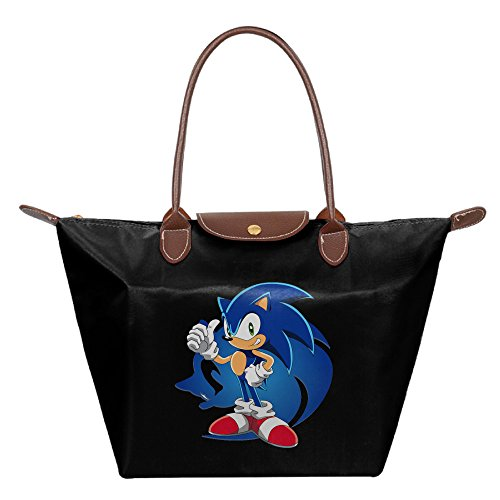 [Sonic The Hedgehog Women's Fashion Waterproof Tote Shoulder Bag] (Sonic The Hedgehog Tails Costumes)