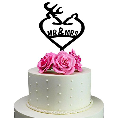 Sugar Yeti Wedding Topper Heart product image