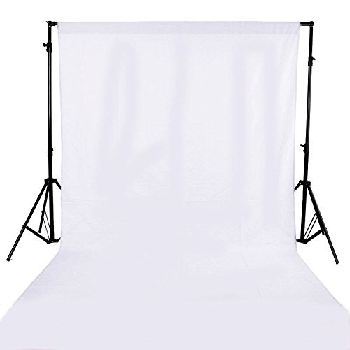 GFCC White Polyester Photo Booth Backdrop Photography Background 8FTX10FT Graduation Backdrop]()