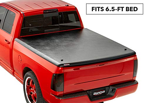 UnderCover Classic One Piece Truck Bed Tonneau Cover | UC3070 | fits 2009-2018 & 2019 Classic Dodge Ram 1500 6.4ft Short Bed Crew