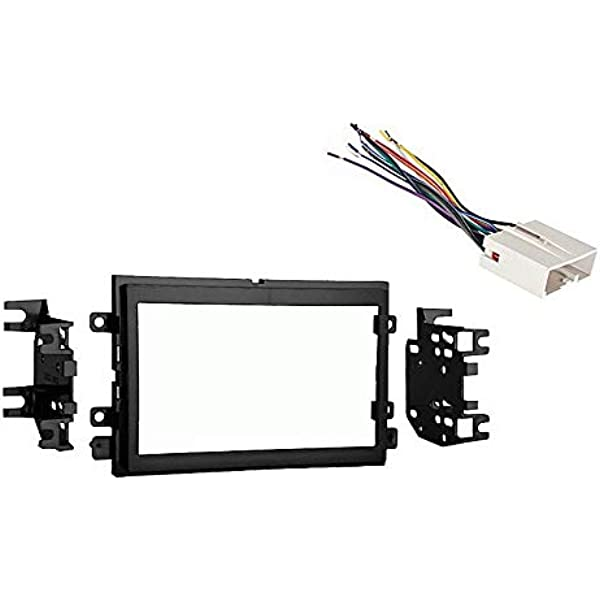 Amazon.com: Compatible with Ford F 250 350 450 550 2005 2006 2007 Double  DIN Stereo Harness Radio Dash Kit: Car Electronics   2006 Ford Super Duty Wiring Harness      Amazon.com