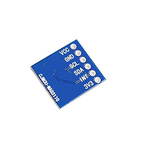 BFHCVDF MAG3110 3 Axes de la Terre num/érique Champ magn/étique Compas Module de capteur g/éomagn/étique Bleu
