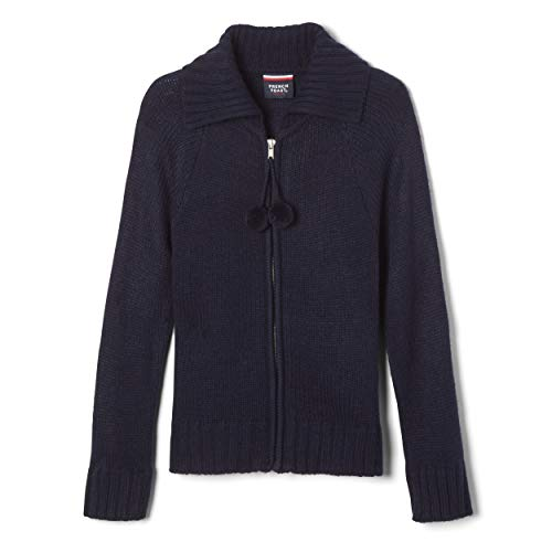 School Jackets For Girls - French Toast Girls' Big Zip Front