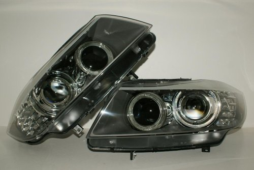Bmw 3 Series Face Lift - BMW 3 Series E90 E91 LCI Facelift 08-11 Bi-Xenon HeadLights Front Lamps PAIR OEM