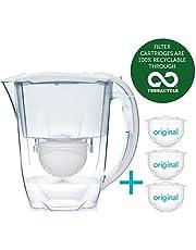 Aqua Optima 6 maanden verpakking - Oria waterfilterkan met 3 x 60 dagen waterfilterpatronen