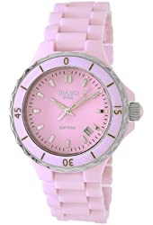 Roberto Bianci Women's H262L_PINK Condezza All Pink Ceramic with Sapphire Crystal Watch
