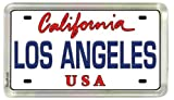 Los Angeles California License Plate Acrylic Small