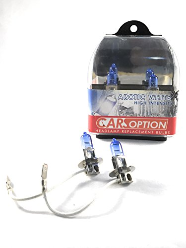 Carsoption H3 5900K 12v 55 Watt Super White Xenon HID Halogent Bulb ()