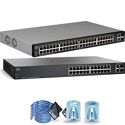 Cisco SG200-26 Gigabit Ethernet Smart Switch + SG200-50P 50-