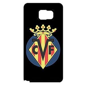 Samsung Galaxy Note 5 Mobile Case Villarreal FC Team Phone Case Football Series Personal Desgin CVF Logo Protective Case