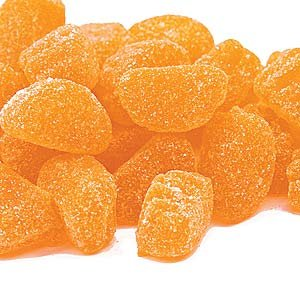 Candy Orange Mini Slices, 2Lb
