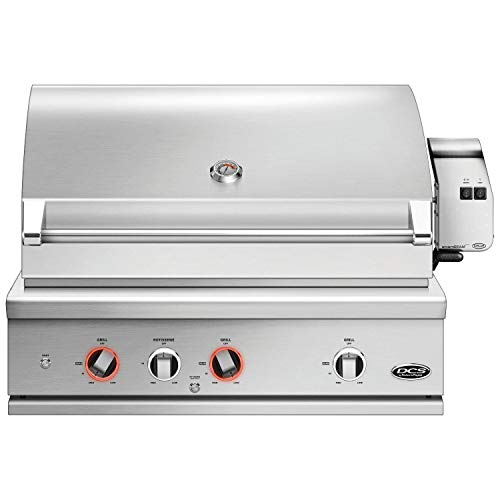 DCS Evolution Built-In Gas Grill with Rotisserie (BE1-36RC-L), 36-Inch, Propane