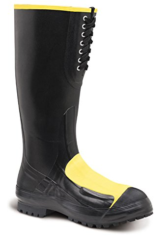 - Lacrosse Men's 16 Inch Meta Pac Met Steel Toe Work Boot, Black, 9 M US