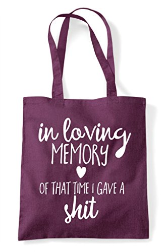 Shit Of Shopper A Statement Loving Gave I Bag Memory Time Plum That In Tote ag8wq6
