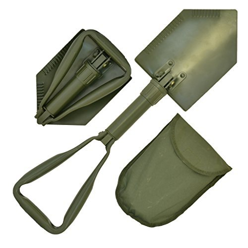 - Epic Militaria NATO Emergency Lightweight Multi-Functional Military Folding Shovel with Case