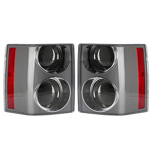 Kungfu Mall Car Rear Tail Light Assembly Brake Lamp Pair for Vogue L322 2002-2009