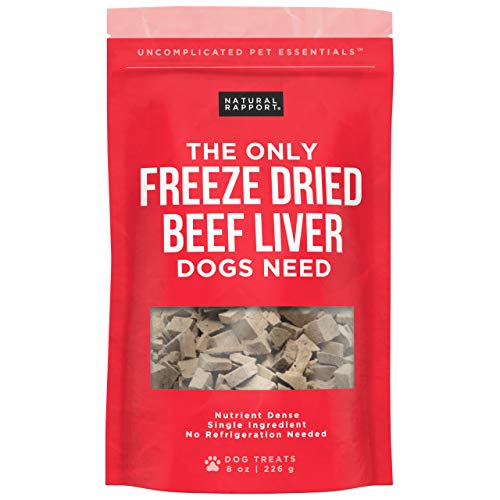 Natural Rapport Beef Liver Dog Treats - The Only...