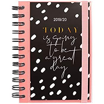 Amazon.com : Kraft Quotes Daily Planner, Dated Middle School ...