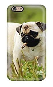 Valerie Lyn Miller Snap On Hard Case Cover Pug Dog Protector For Iphone 6