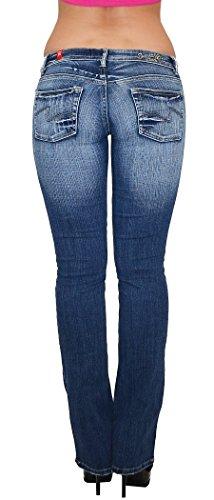 by bootcut taille j18 Jean basse tex Boot Typ BB Cut Jean femme pantalon 6A6rq