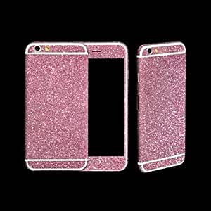 Tqie Full-length Bling Glitter Body Sticker for iPhone 4/4S(Assorted Colors) , Silver