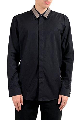 Marc Jacobs Men's Black Long Sleeve Casual Shirt US XL IT - Men Jacobs Shirts Marc