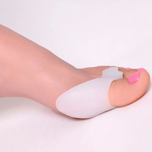 Bluelans® 1 Pair Silicone Gel Bunion Corrector Guards Pad Cushion Toe Protector Straightener Toe Separators by Bluelans (Image #3)