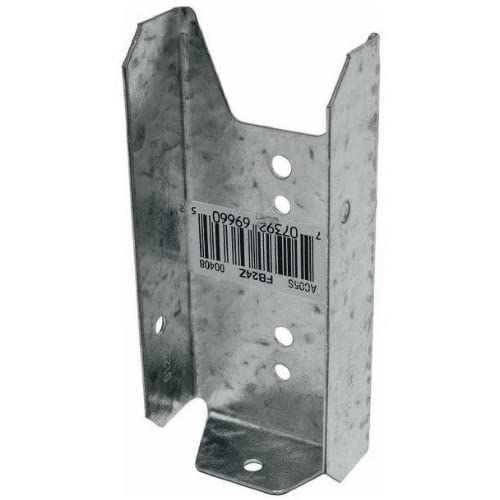 Simpson Strong Tie FB24Z ZMAX Galvanized 20-Gauge 2x4 Fence Bracket 100-per box