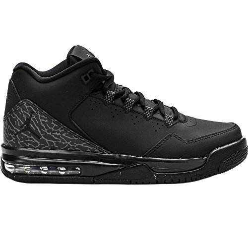 Nike Jordan Kids Jordan Flight Origin 2 BG Black/Black/Dark Grey Basketball  Shoe 6.5 Kids US