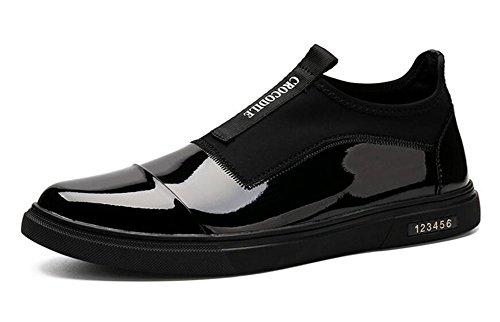 縁石幽霊以前はメンズレースアップフラットシューズ靴スケートボード靴レザーブティックカジュアルシューズトレンドのセット足靴