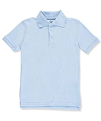 Classic School Uniform Boys' S/S Pique Polo