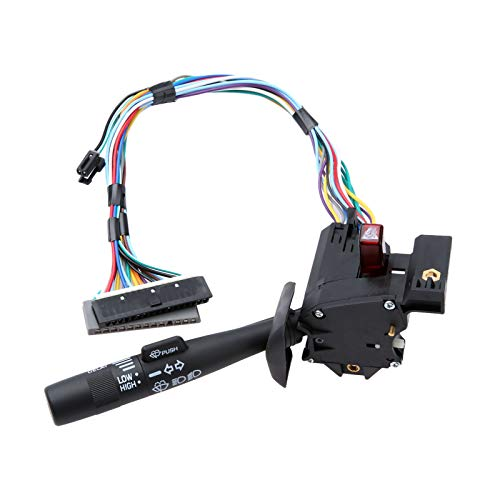 Fincos Yetaha Turn Signal Lever Windshield Wiper Arm Switch Cruise Control Tilt Steering 26100986 for Chevrolet GMC Truck Oldsmobile ()