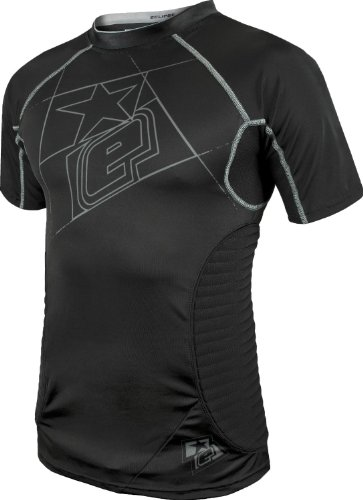 Planet Eclipse Paintball Overload Protective Jersey (Black, XX-Large)