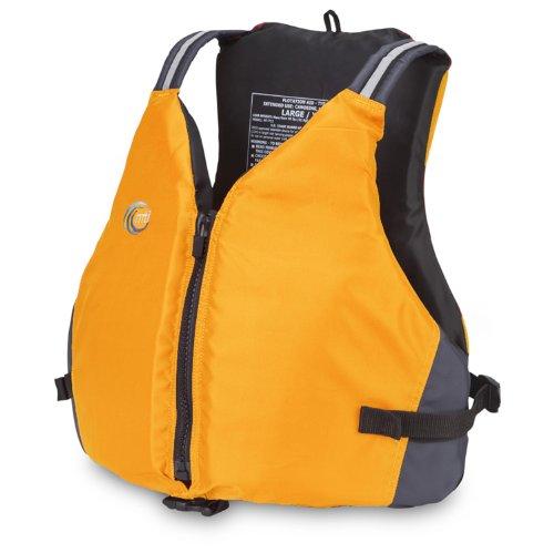 MTI Adventurewear Journey PFD Life Jacket (Mango, XX-Large/XXX-Large)