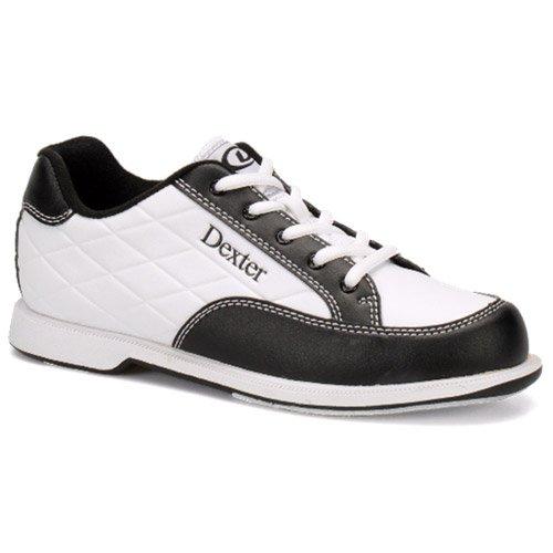 Dexter Women's Groove III Wide Bowling Shoes, White/Black, Size 8.0