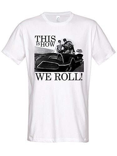 Batman This Is How We Roll T-Shirt white