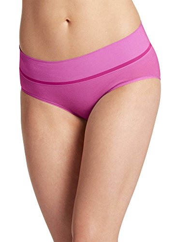 - Jockey Women's Underwear Natural Beauty Seamfree Hipster, Dusty Lavender, 6