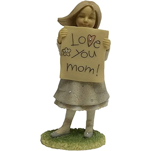Sign For I Love You (Enesco foundations precious girl holding a sign
